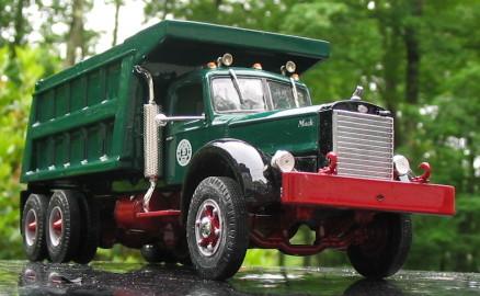 Green truck